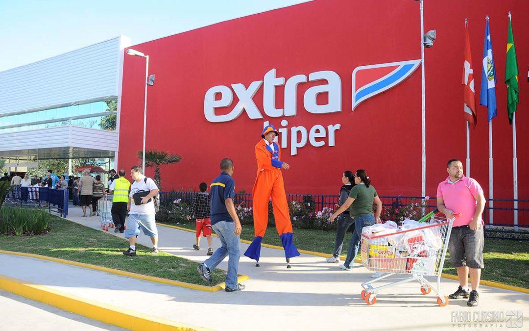 Inauguração Extra Hiper Taubaté SP