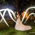 Utilizando Light Painting em fotografia de casametos: Lígia e Rafael