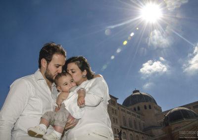 Batizado do Henrique Basílica N. Sra Aparecida
