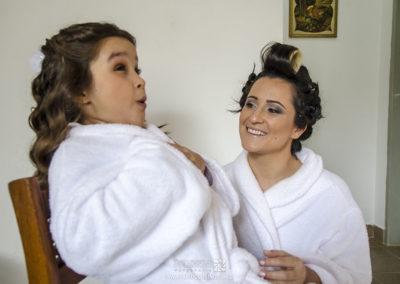 Making of da noiva Adriana