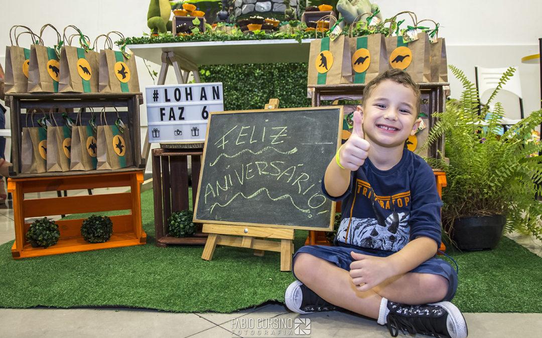 Aniversário de 6 anos do Lohan, Fantasy Park – Via Vale Shopping
